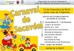 Carnaval Infantil em Sacavém